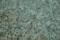 Fragments of a shattered glass Stock Photography