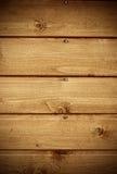 Fragnent der hölzernen Wand mit Nägeln Lizenzfreies Stockbild