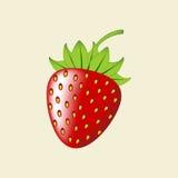 Fragola Berry Icon Immagine Stock Libera da Diritti