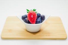 Fragola e mirtillo di frutti Immagini Stock