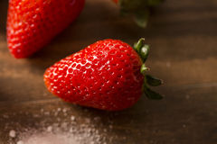 Fragola, fragola fresca, fragola matura, strawberr sano Immagini Stock Libere da Diritti