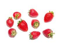 Fragole casalinghe appetitose Stile di vita sano Immagini Stock Libere da Diritti