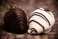 Fragole del cioccolato Immagine Stock