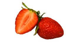 Fragole mature rosse Fotografie Stock Libere da Diritti