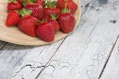 Fragole rosse mature fotografie stock