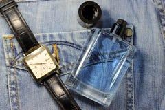 Fragrância para homens Foto de Stock