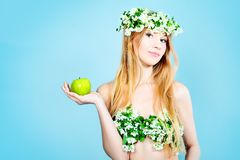 Fragrance of apple Stock Photography