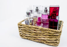 Fragrance collections Stock Images