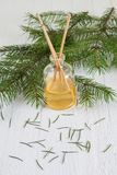 Fragrance coniferous sticks or Scent diffuser Royalty Free Stock Photography