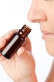 Fragrance of essential oils. Possible applications of essential oils stock image