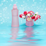 Fragrance of freshness and flowers Stock Image