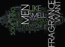 Fragrance For Men Word Cloud Concept Royalty Free Stock Images