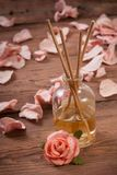Fragrance sticks or Scent diffuser Stock Photography