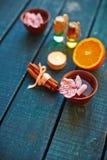 Fragrances for spa Stock Photo