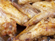 Juicy wings Royalty Free Stock Image