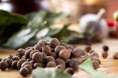 Fragrant black pepper Stock Image