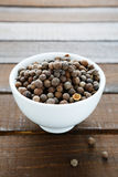 Fragrant black pepper Stock Image