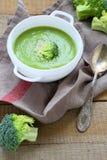 Fragrant brokuły zupni Zdjęcia Royalty Free