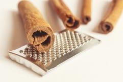 Fragrant cinnamon sticks. Royalty Free Stock Photo