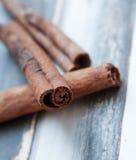 Fragrant cinnamon sticks Royalty Free Stock Photos