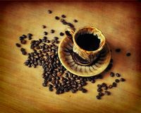 Fragrant coffee Stock Photo