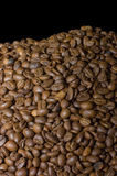 Fragrant coffee beans Royalty Free Stock Image