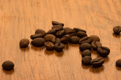 Fragrant coffee beans Stock Photo