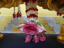 Fragrant flower garland Royalty Free Stock Photo
