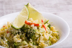 Fragrant fried rice Stock Images