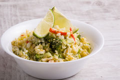 Fragrant fried rice Royalty Free Stock Image