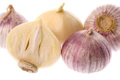 Fragrant Garlic Royalty Free Stock Image