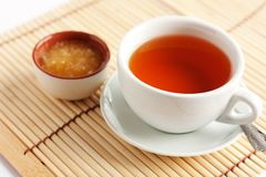 Fragrant hot tea with honey Royalty Free Stock Photography