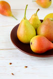 Fragrant and juicy pears Royalty Free Stock Images
