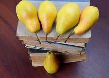Fragrant pears Stock Image