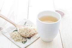 Fragrant Rice Tea Stock Photography