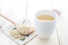 Fragrant Rice Tea Stock Photography