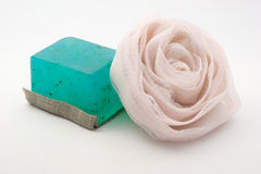 Fragrant soaps for SPA Stock Photo