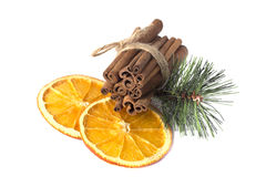 Fragrant winter the composition Royalty Free Stock Image