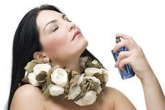Fragrância da mulher Imagens de Stock