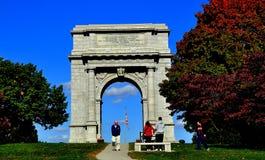 Fragua del valle, PA: Arco conmemorativo nacional fotos de archivo libres de regalías