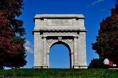 Fragua del valle, PA: Arco conmemorativo nacional foto de archivo