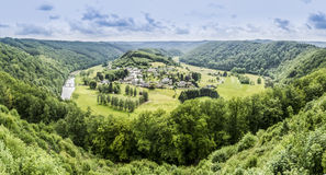 Frahan, Belgium Panorama Royalty Free Stock Photo