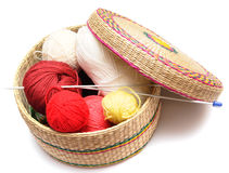 Free Frail Of Knitting Tools Royalty Free Stock Photo - 7687935