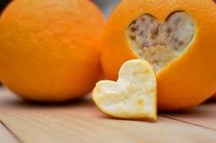 Frais chaud d'amour Photo stock
