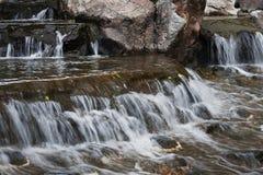Frais de cascade et propre naturels Photographie stock libre de droits