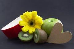 Frais et coeur sains Photos stock