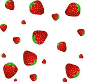 Fraise BG Photo stock