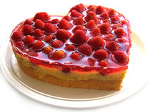 Fraise cake Images stock