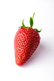 Fraise d'isolement sur le blanc Photo stock