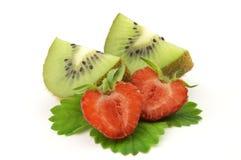 fraise de kiwi photos libres de droits